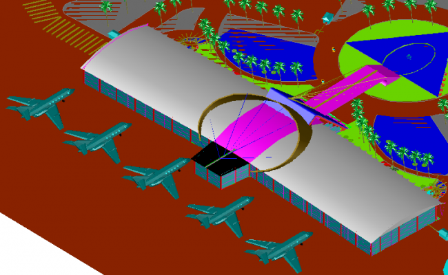 Airport 3d design