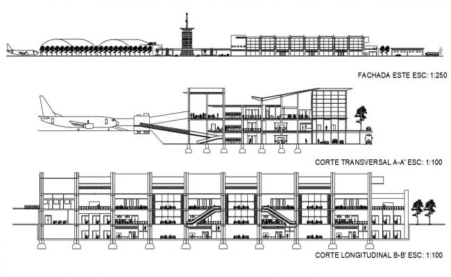 Airport Elevation CAD File