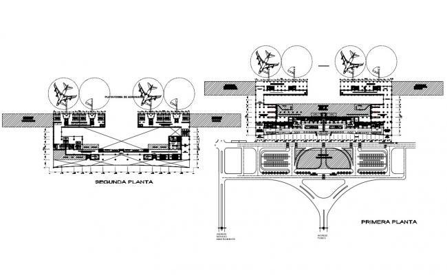 Airport Interior Design Plan