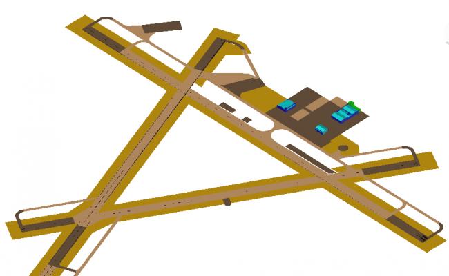 Airport airfield design