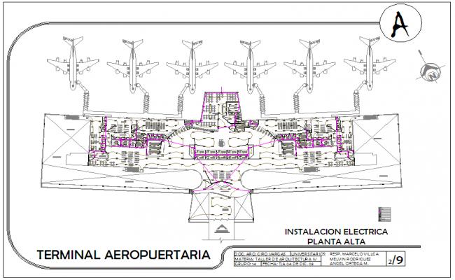 Airport designing