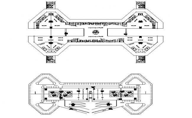 Airport drawing in autocad