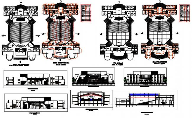 Amphitheatre 1500 seats
