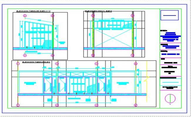 Ampliacion offices layout plan.