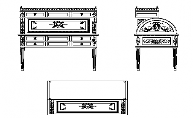 Ancient times furniture details