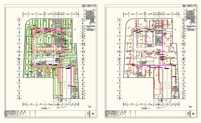 Apartment & Commercial Complex Lay-out