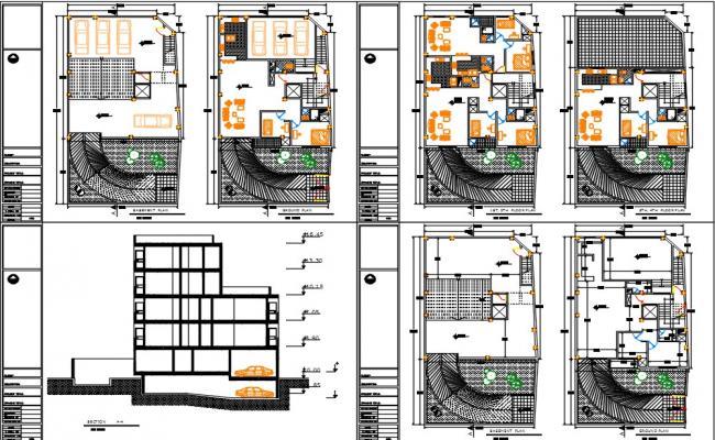 Apartment-6units dwg