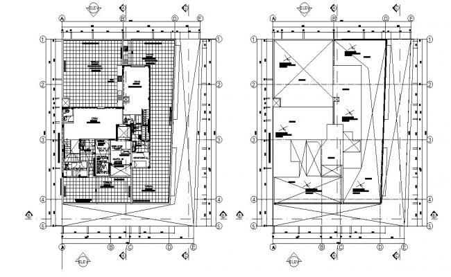Apartment Design 2d Architecture Plan