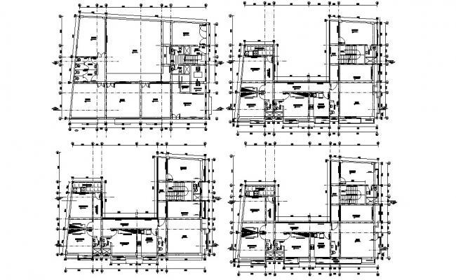 Apartment Design 2d Layout Architecture Plan
