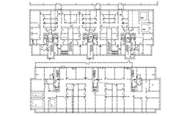 Apartment Design Layout Plan CAD Drawing Download