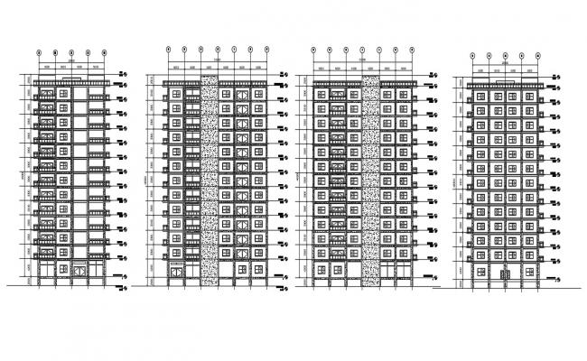 Apartment Elevation Drawings