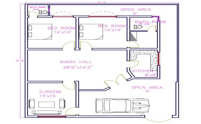 Apartment Floor dwg