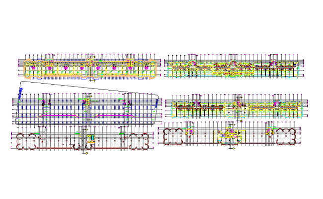 Apartment Lay-out detail Autocad file.
