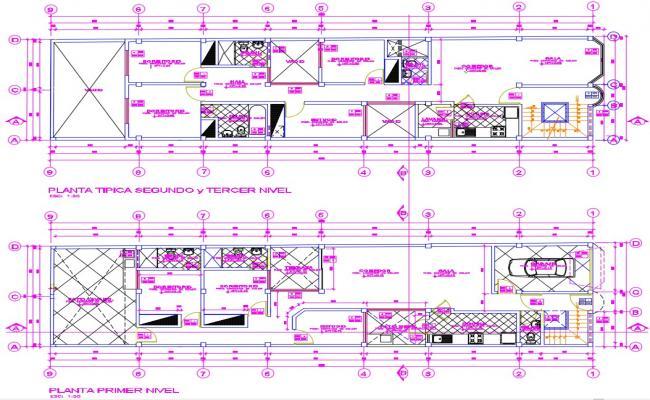 Apartment Plan Dwg