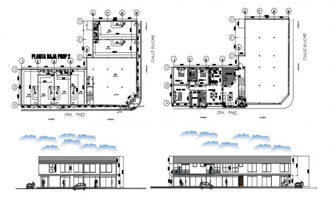 Apartment Plan In DWG File