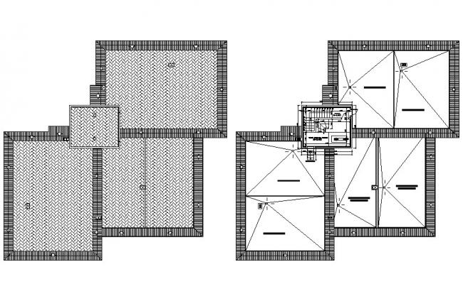 Apartment Site Plan Free DWG File