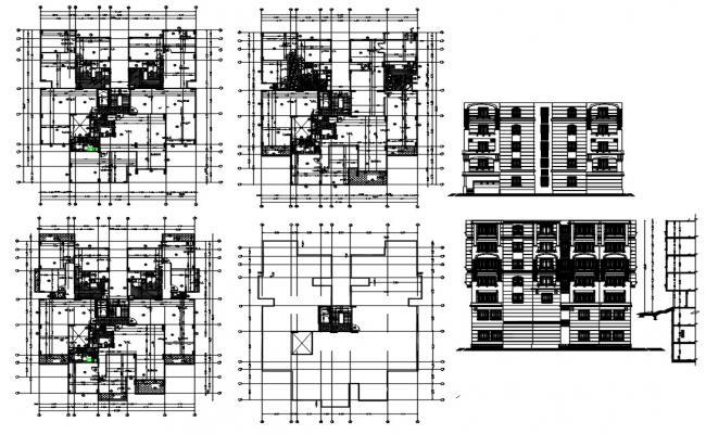 Apartment Working Plan DWG File