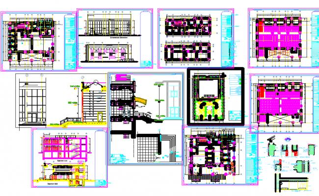 Apartment architecture Layout plan