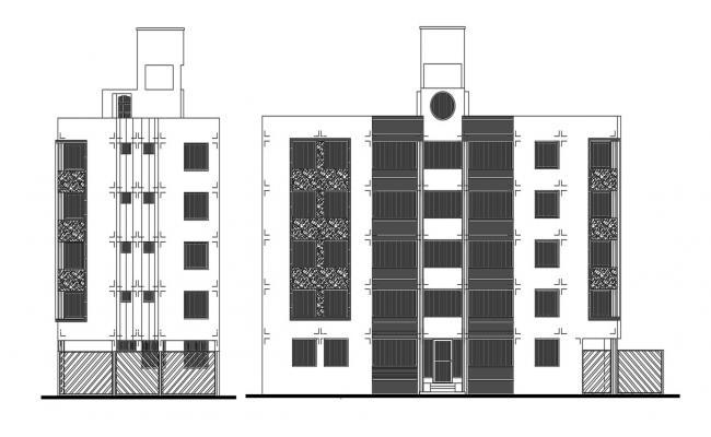 Apartment design in autocad
