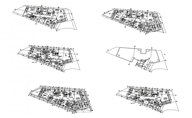 Apartment Design In AutoCAD File