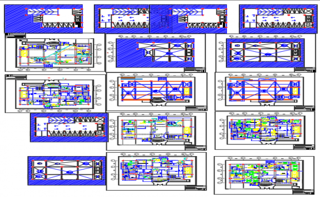 Apartments Dwg file