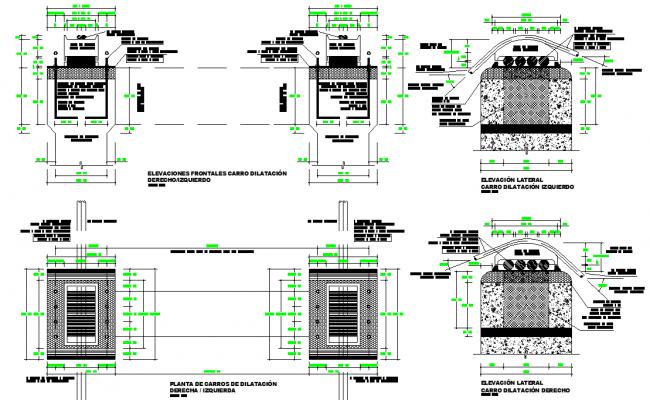 Aqueduct ode 180 m plan layout file