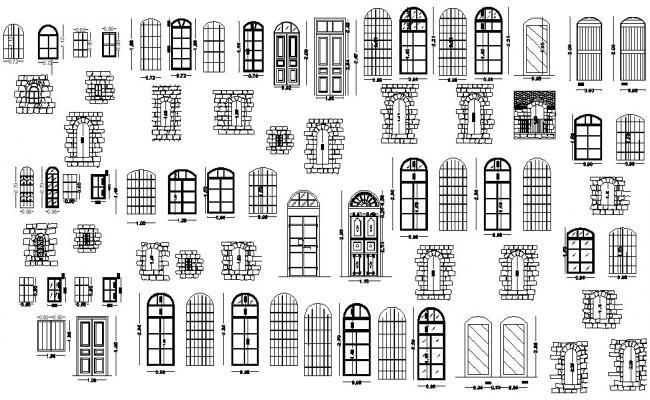 Arch Door Blocks