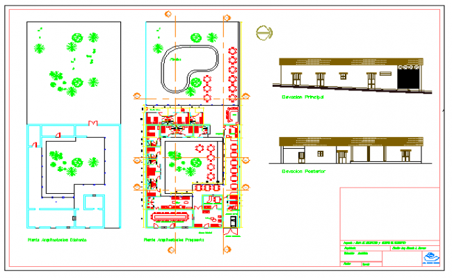 Architect design of hotel