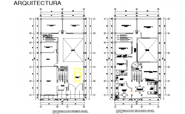 Architect house planning layout file