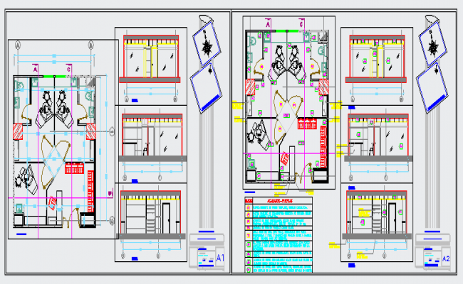 Architectural Clinic design drawing