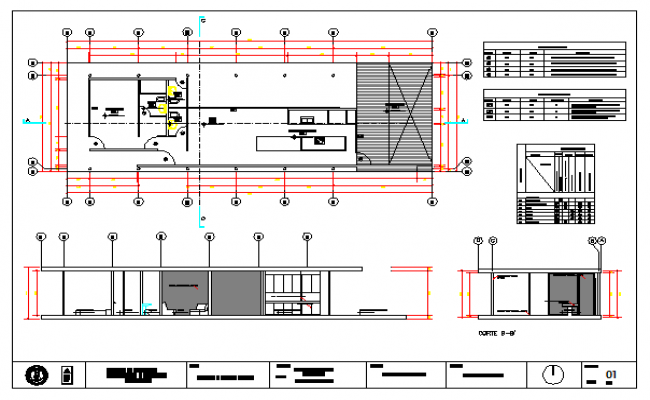 Architectural House design drawing and public space design drawing