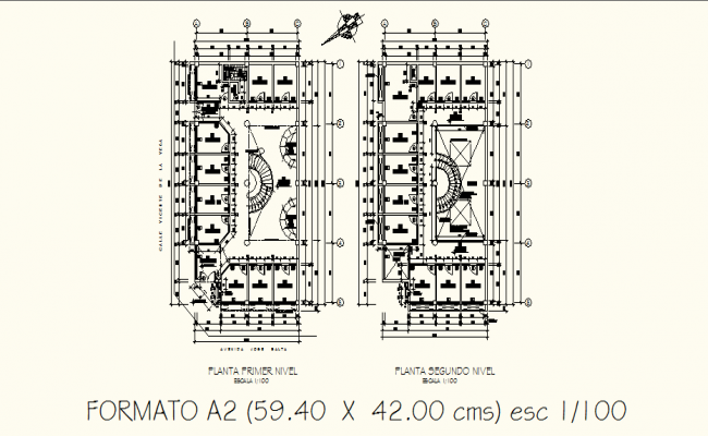 Guest House Plans In AutoCAD File