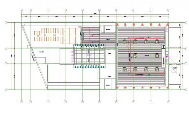 Architectural Roof Plan