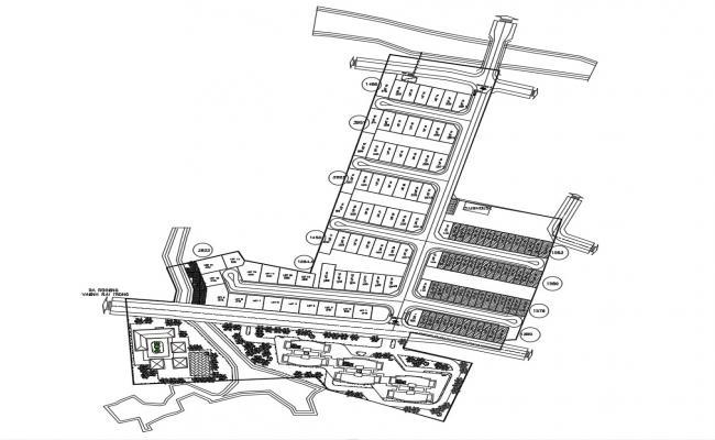 Architectural Site Plan