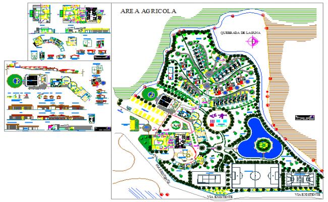 Architectural based design of Resort_general distribution