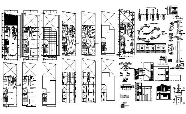 Bungalow Design In  AutoCAD File