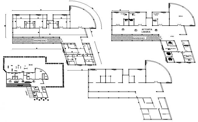 Architectural design of school