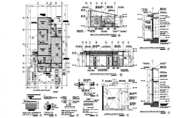 Luxury Home Plans In AutoCAD File