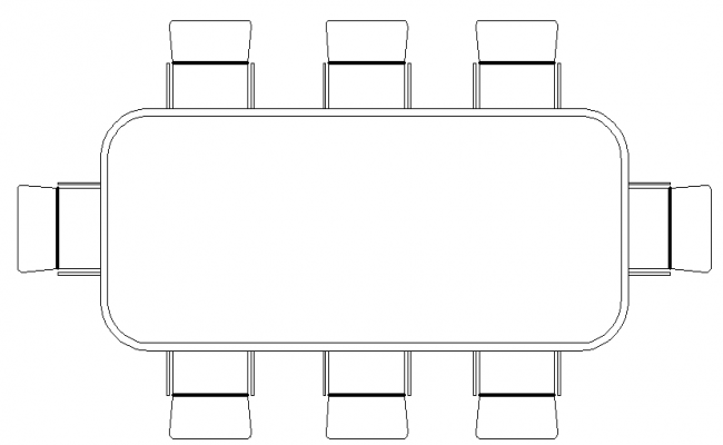 Architecture Design of Dinning Table Elevation dwg file