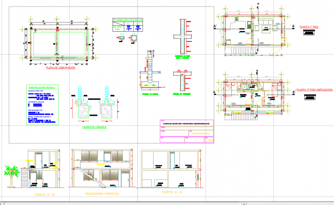 Architecture house plan autocad dwg files for House plan cad file