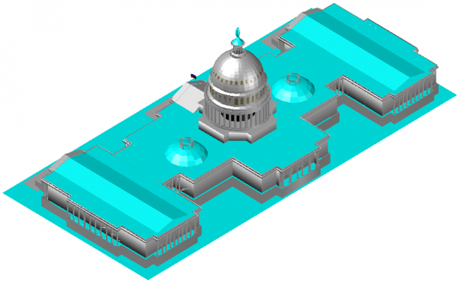Architecture plan layout
