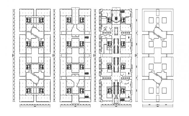 Area Layout Design Plan AutoCAD Drawing