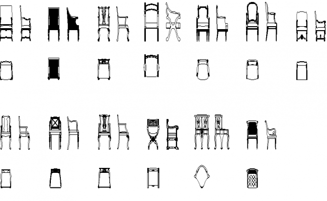 Arm chair and other chair details