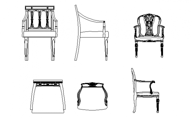 Arn chair and other chair details