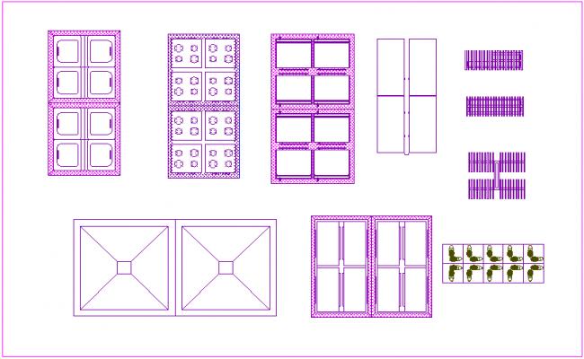 Artifacts sale area of door and window view dwg file