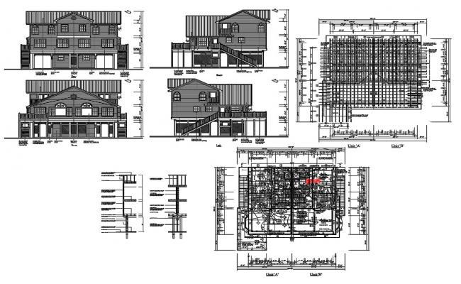 Attic House Project Architecture Plan