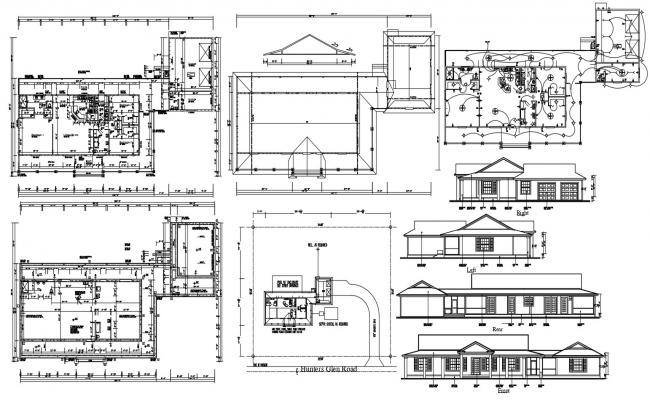 Attic House Project Design Architecture Plan