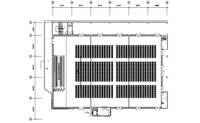 Auditorium CAD Plan