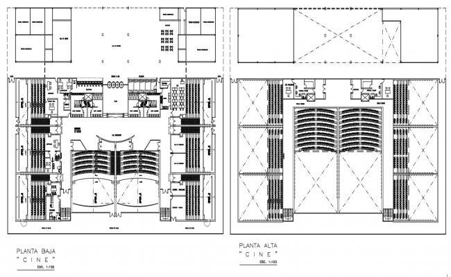 Auditorium Floor Plan