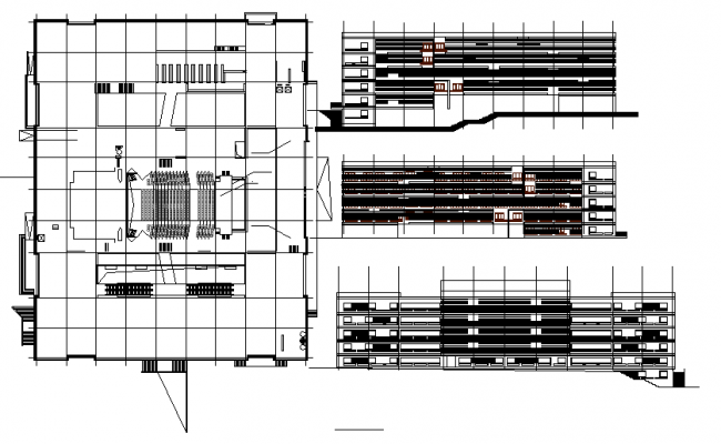 Auditorium Lay-out & Elevation detail